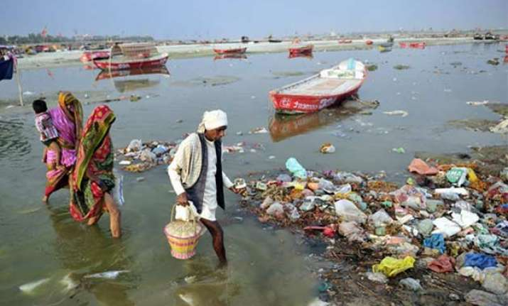 tell us one place where ganga is clean ngt asks centre