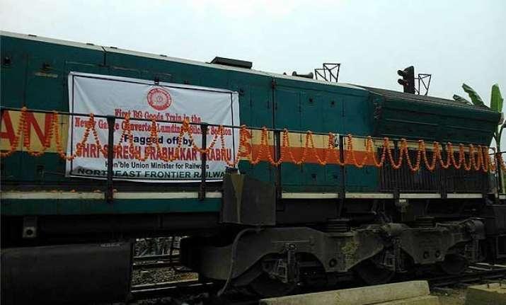 assam lumding silchar broad gauge line operational