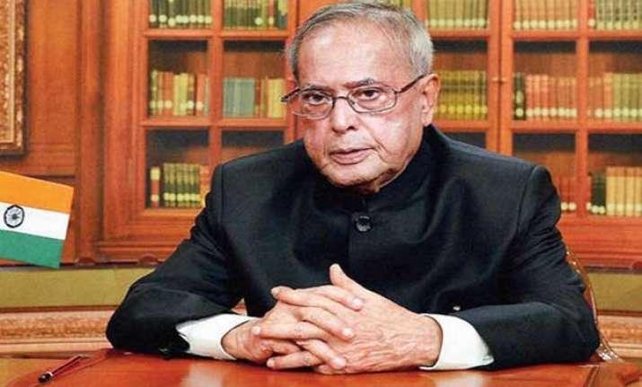 president mukherjee expresses shock over terror attack in