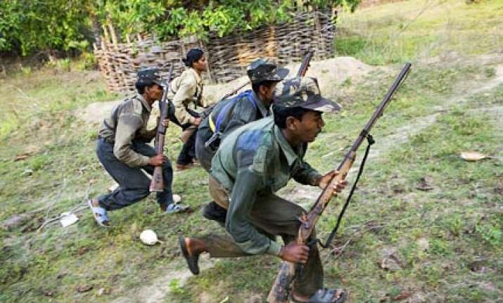 five security personnel killed by naxals in chhattisgarh
