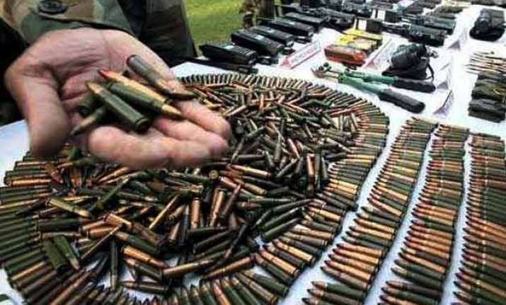 suspected maoist held with arms and explosives
