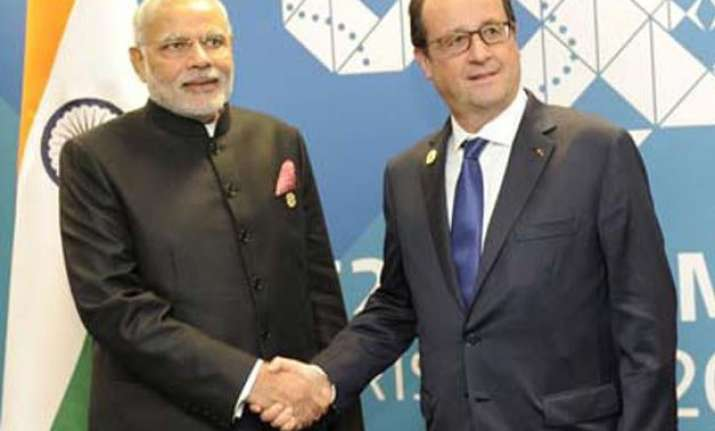 rafale issue to come up during modi hollande meeting