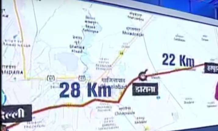 Meerut India Map.10 Things You Need To Know About The Delhi Meerut Expressway India