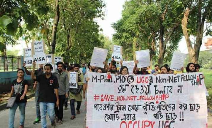 fellowship student protest escalates despite hrd s assurance