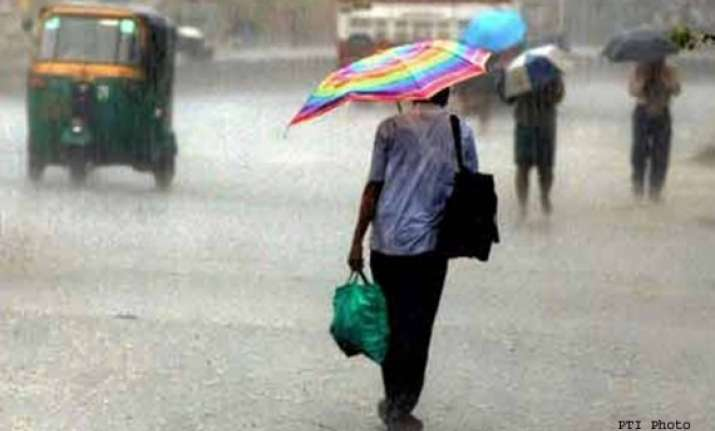 light to moderate rains at several places in rajasthan