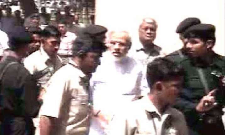 modi questioned by sit in two sessions