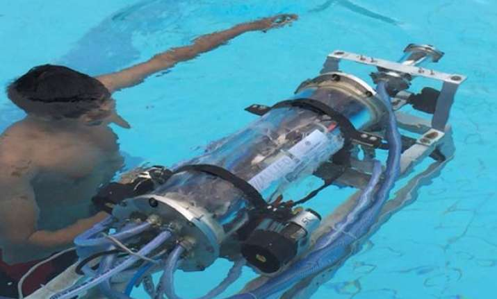 iit students develops underwater robots