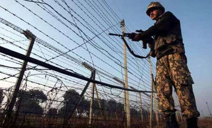 after recent ceasefire violations by pakistani troops