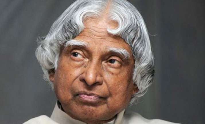 apj abdul kalam s name goes to the place he liked most space
