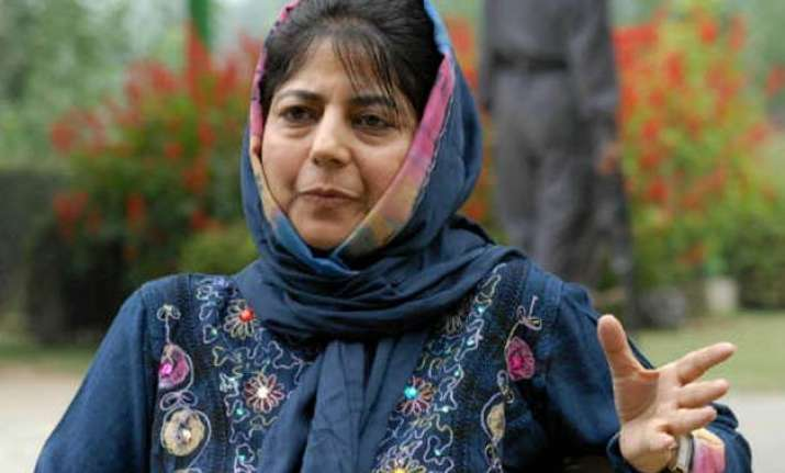 killing of youth in tral highly unfortunate mehbooba mufti