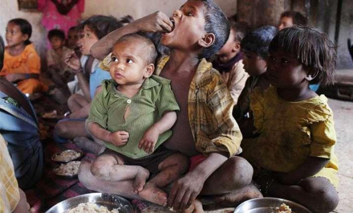 every year 1 million children die of malnutrition in india