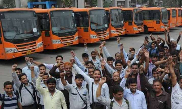 dtc strike disrupts bus services in city commuters hit
