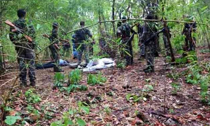 naxals torch 17 vehicles at mining site in chhattisgarh s