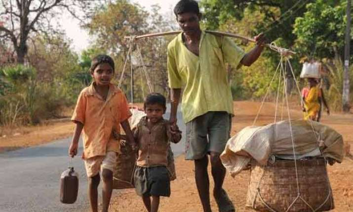 670 million in rural areas live on rs 33 per day