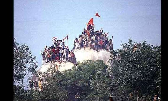 babri anniversary over 10 000 security personnel guarding