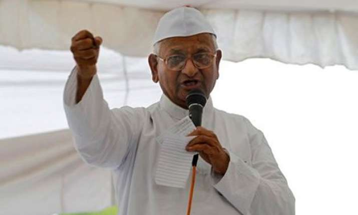 no foreign funding no money from capitalists anna hazare