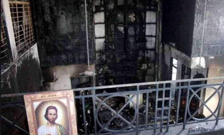 six arrested for vandalising church in jabalpur