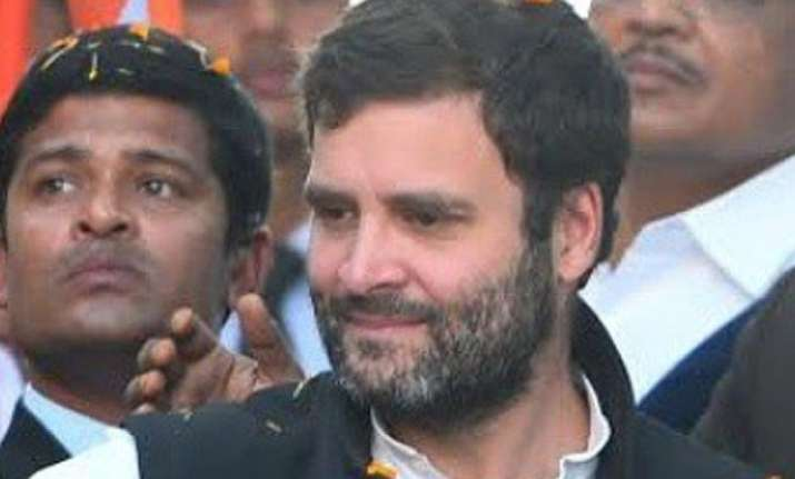 rahul gandhi returns from europe to hold meeting today