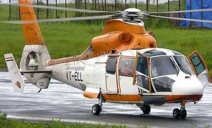 pawan hans conducts successful flight test at rohini