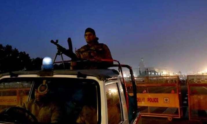 delhi turns into fortress for republic day