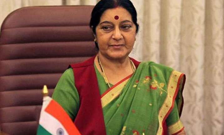 sushma swaraj on lanka visit from tomorrow