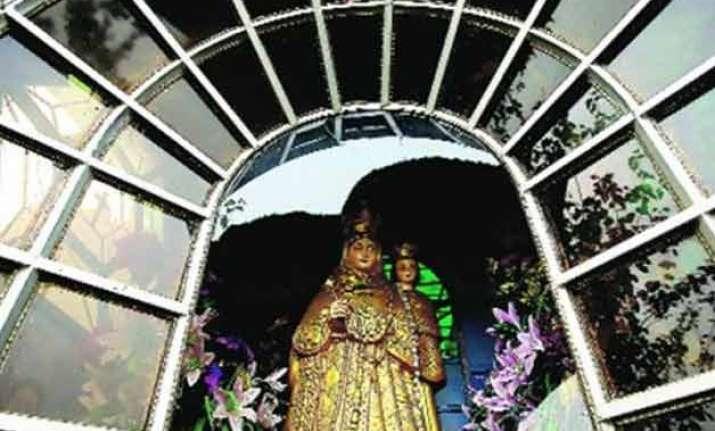 church vandalised in haryana cross replaced with hanuman