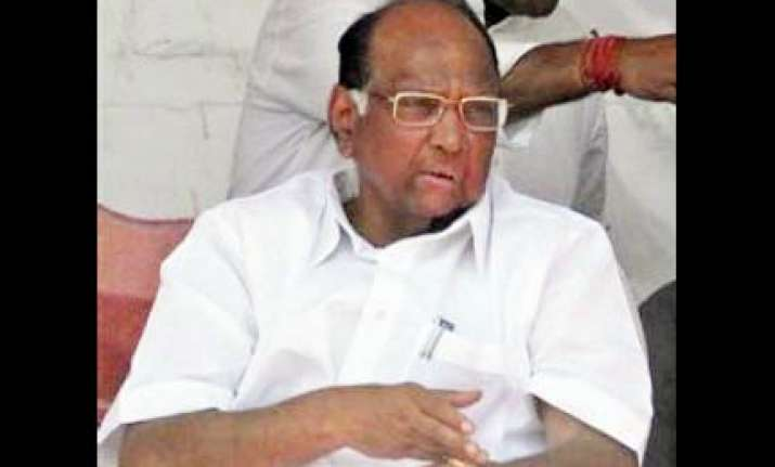 ncp chief sharad pawar hospitalised in mumbai