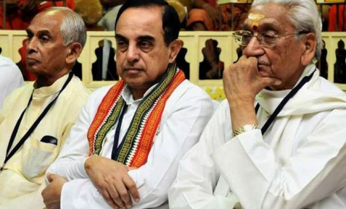 no objection to vahanvati representing pm swamy