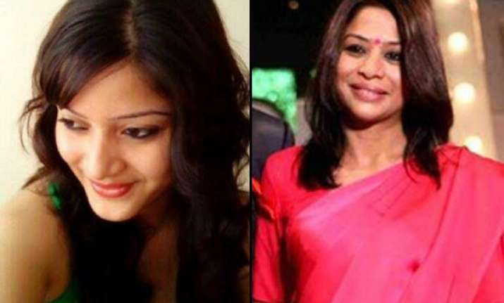 indrani faints in courtroom daughter vidhie breaks down