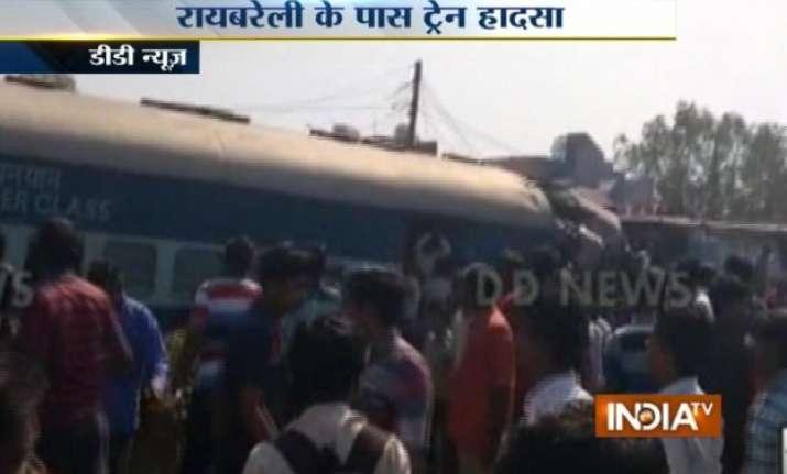 dehradun varanasi janata express derails at rae bareli 31