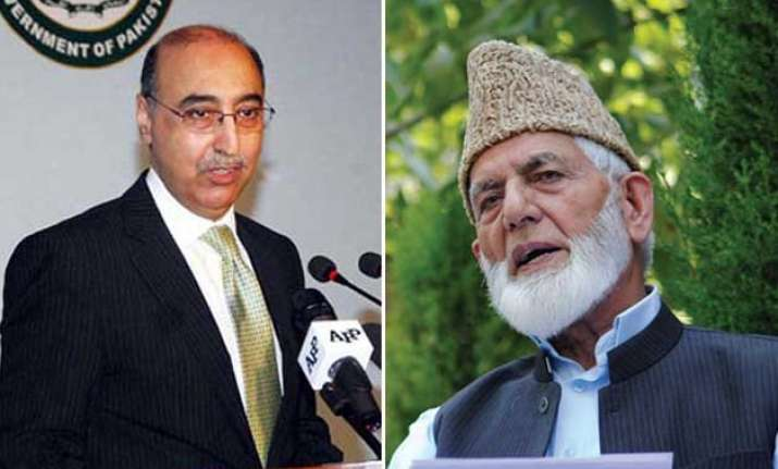 pak envoy meets hurriyat leader geelani discusses kashmir