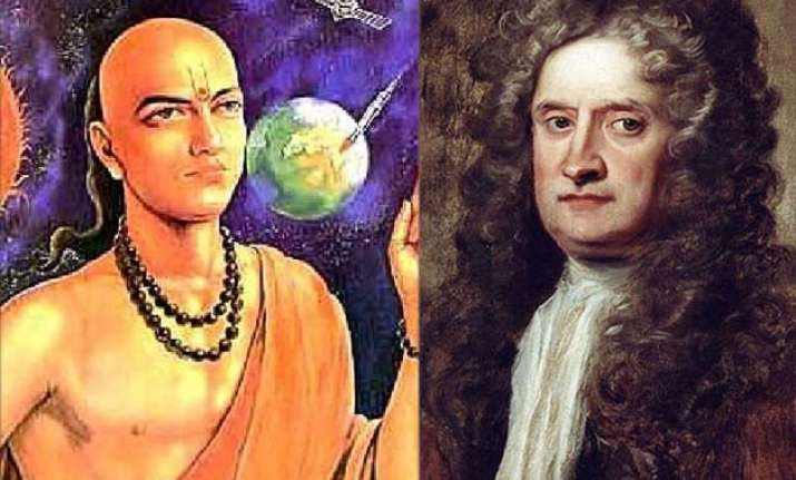 aryabhatta knew about gravity before newton former isro