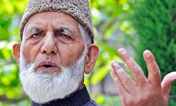 syed ali shah geelani turns down pakistan invite for eid