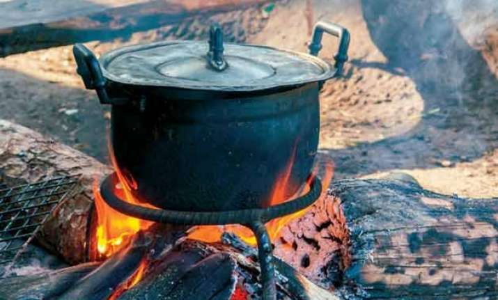 even today 95 rural homes use wood and dung for cooking in