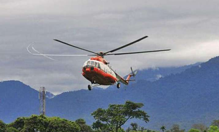 missing pawan hans helicopter found in arunachal s tirap