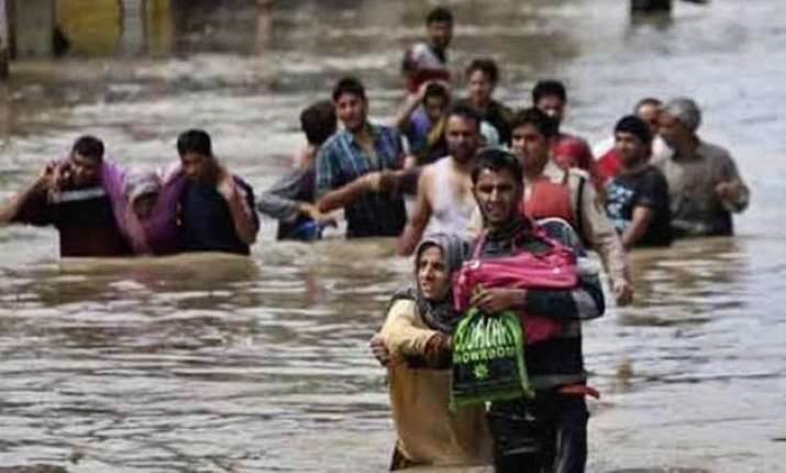 flash floods affect 4 leh villages no casualties reported