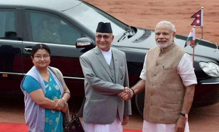 india nepal talk it out no misunderstandings now says oli
