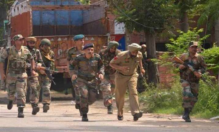 independence day security forces on alert in punjab haryana