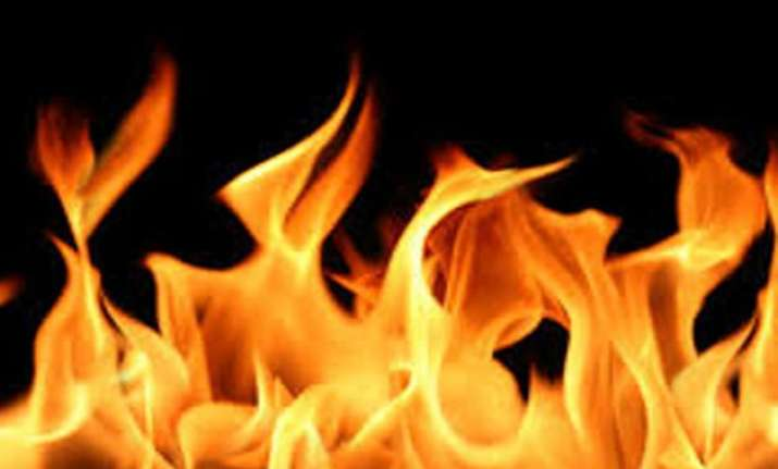 fire breaks out at crpf office in delhi head constable dead