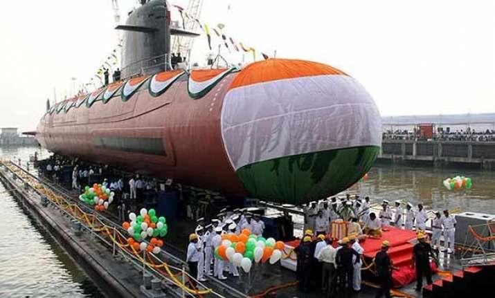 scorpene class kalvari submarine to start sea trials soon