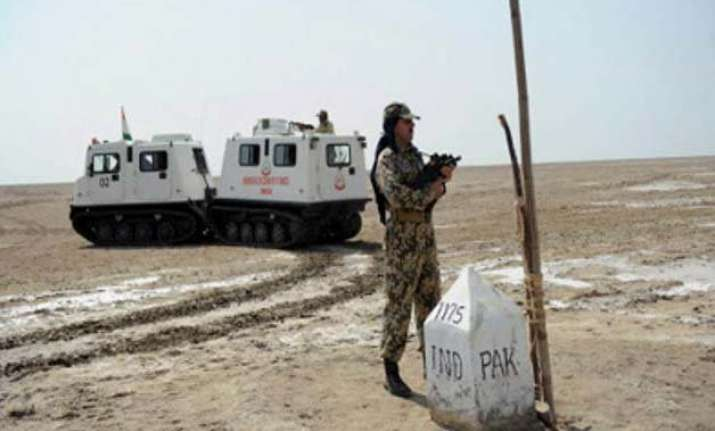 increase in field activities across pak border in rann bsf