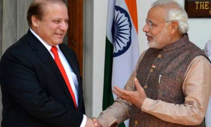 no plans for modi sharif meeting at saarc india