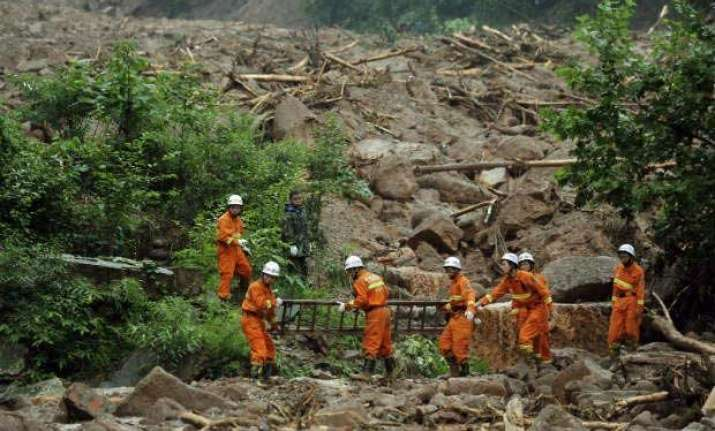 three killed by landslides in jammu and kashmir