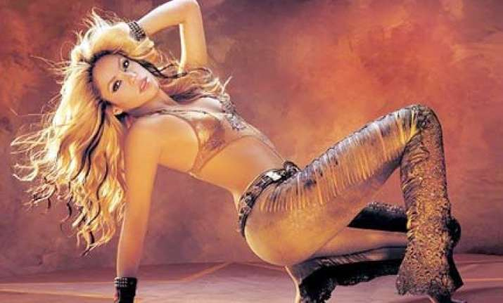 shakira s bollywood debut with a cabaret song