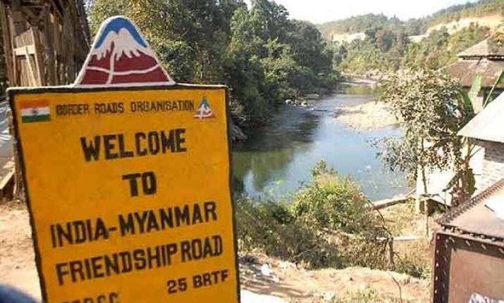 myanmar not allow anti india activities in its territory
