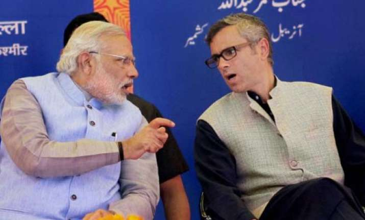 pm modi commends omar for joining swachh bharat campaign