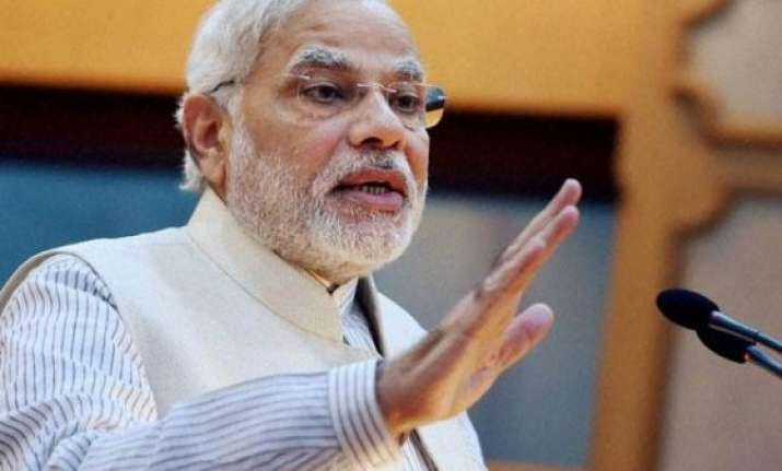 narendra modi asks bureaucrats to clean toilets on gandhi