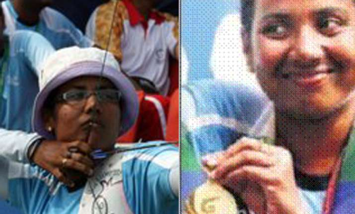 archer deepika claims gold dola settles for bronze