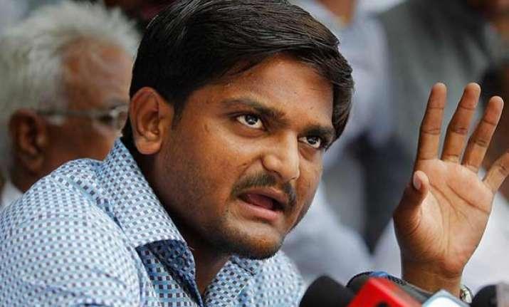 will take agitation to national level hardik patel