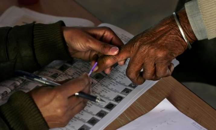 heavy polling in haryana